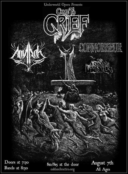 Come To Grief / Amarok / Connoisseur