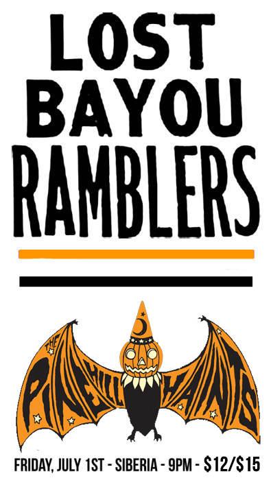 LOST BAYOU RAMBLERS | THE PINE HILL HAINTS