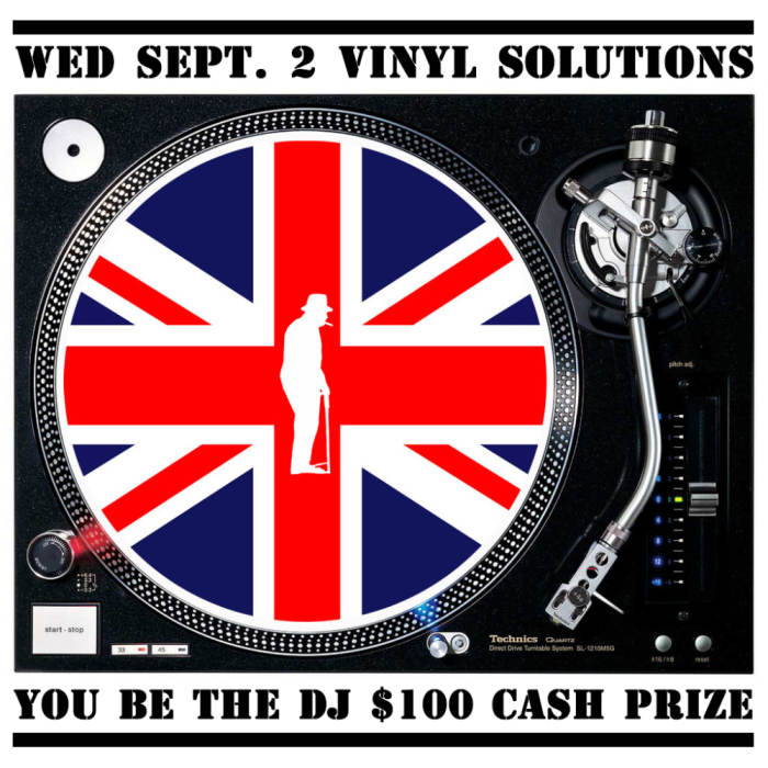 Vinyl Solutions- Bring Your Own Vinyl DJ Competition $100 Prize