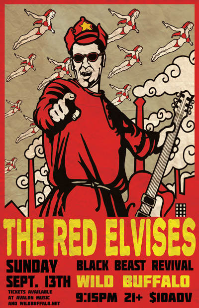 The Red Elvises, Black Beast Revival