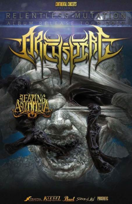 Archspire, Reaping Asmodeia