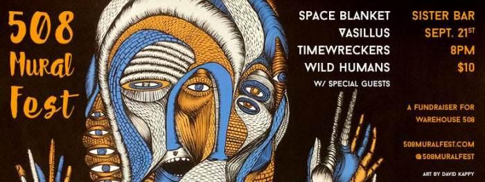 Space Blanket, Vasillus, The Timewreckers, Julian Wild