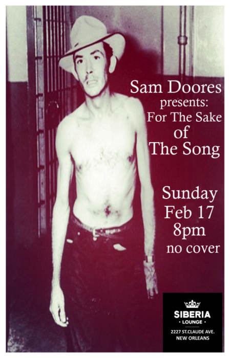 Sam Doores Presents: For The Sake Of The Song