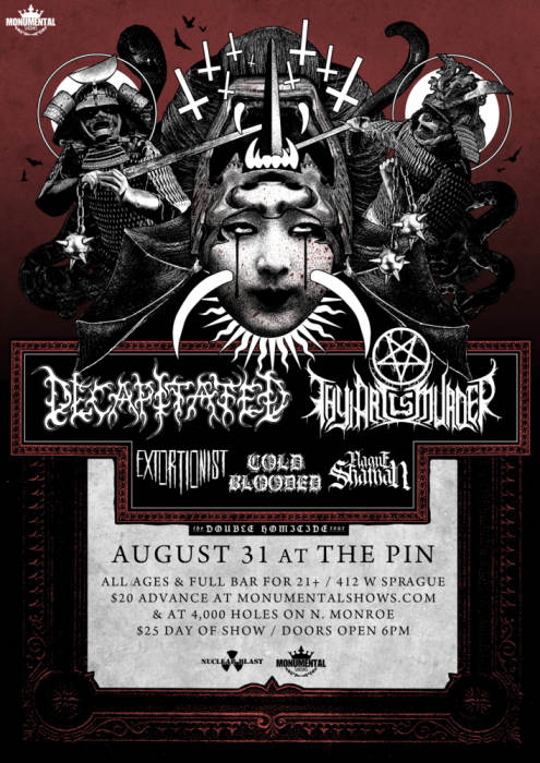 Decapitated & Thy Art Is Murder