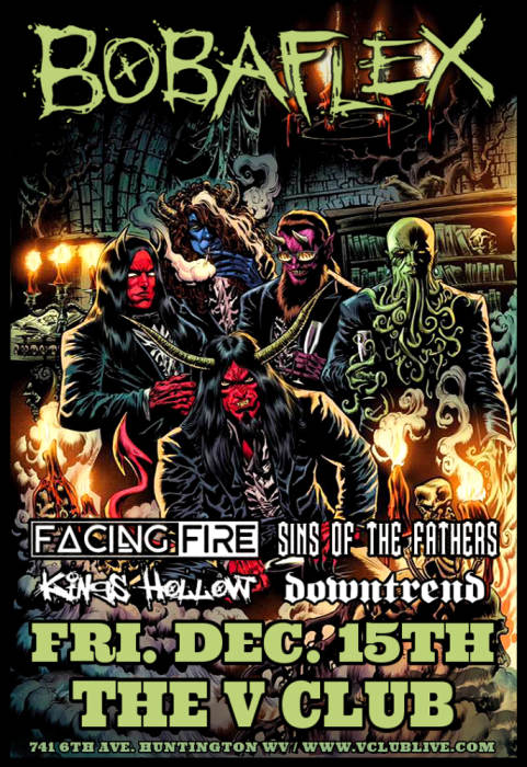 Bobaflex / Facing Fire / Sins of the Fathers / Kings Hollow / Downtrend