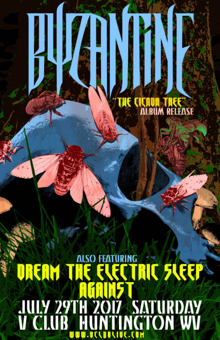 Byzantine (Album Release) / Dream The Electric Sleep / Against