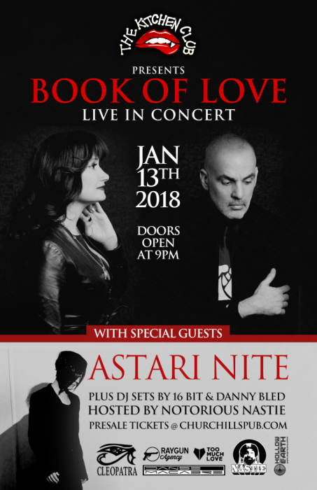 Book Of Love, Astari Nite, and more at the Kitchen Club