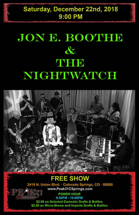 Jon E Boothe and the Nightwatch