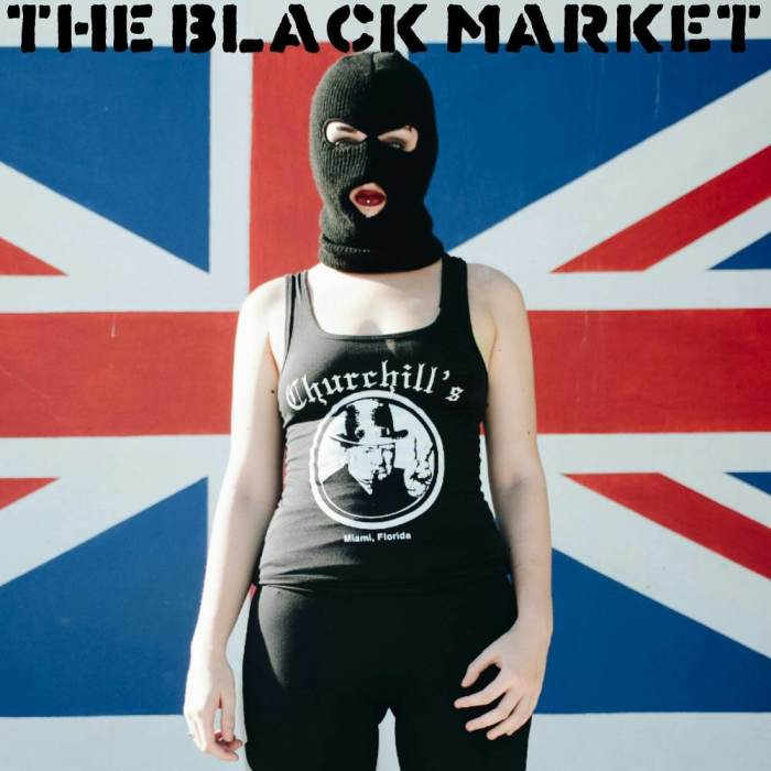 THE BLACK MARKET! WITH VENDORS + MUSIC + FOOD + ART + MORE!