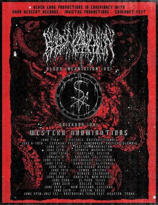 BLOOD INCANTATION | Qrixkuor | Antichrist | Grave Ritual