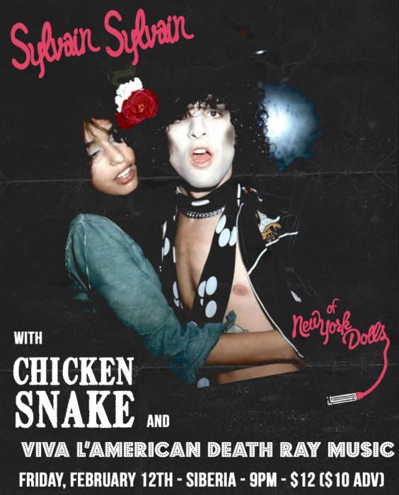 SYLVAIN SYLVAIN (New York Dolls)   Chicken Snake   Viva L