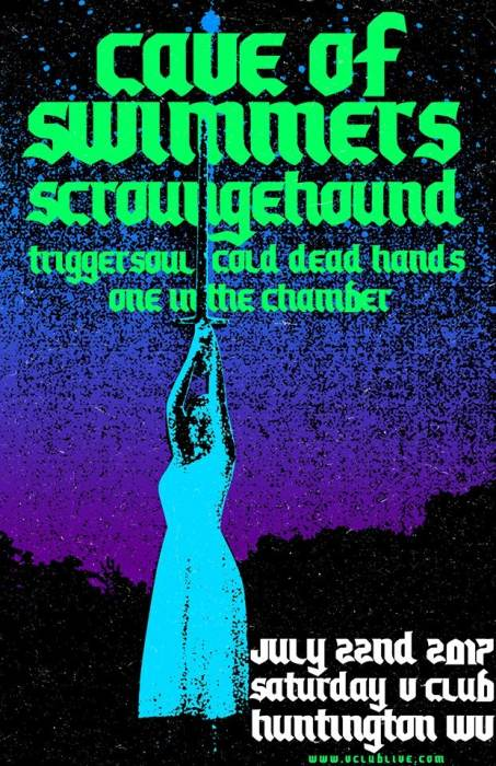 Cave of Swimmers / Scroungehound / Triggersoul / Cold Dead Hands / One in the Chamber