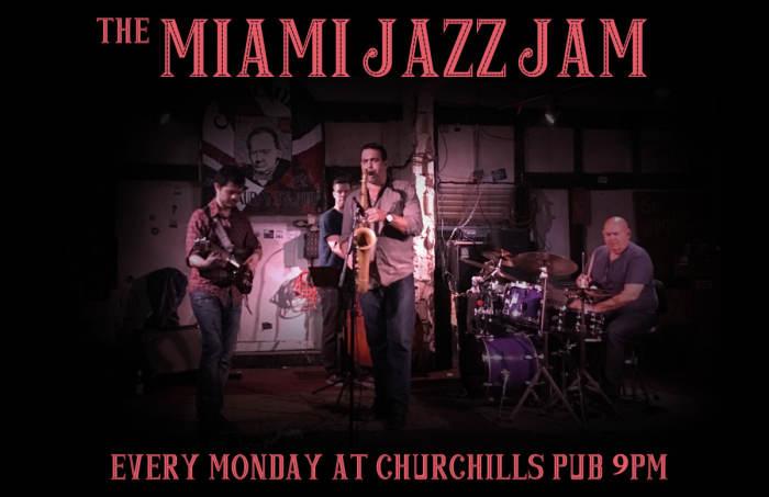 Miami Jazz Jam with Fernando Ulibarri & Theatre de Underground Open Mic with Benny!
