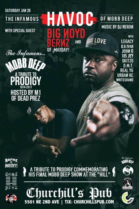 Havoc (of Mobb Deep) Tribute to Prodigy with Big Noyd! Plus Strange Bass 1 year Anniversary!