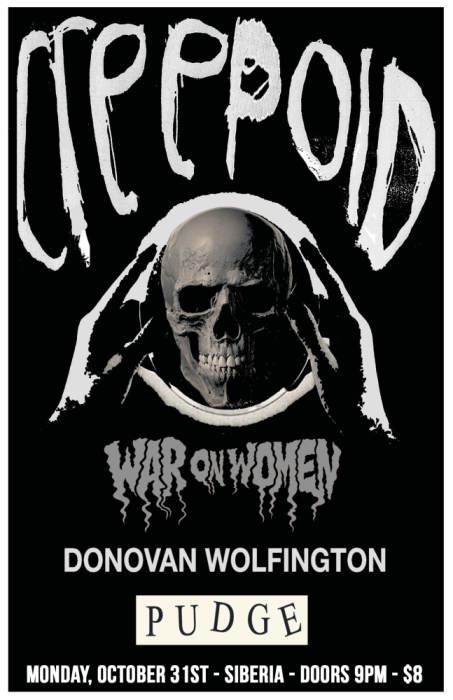 CREEPOID | War On Women | Donovan Wolfington | Pudge