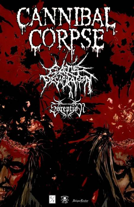 Cannibal Corpse / Cattle Decapitation / Soreption / Empure