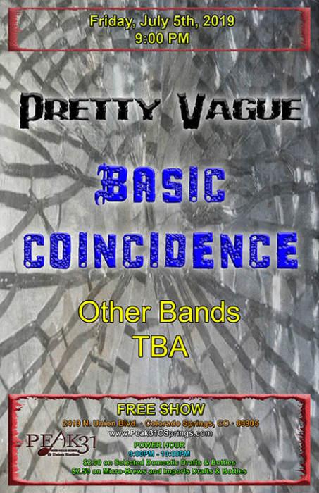 Pretty Vague / Basic Coincidence /