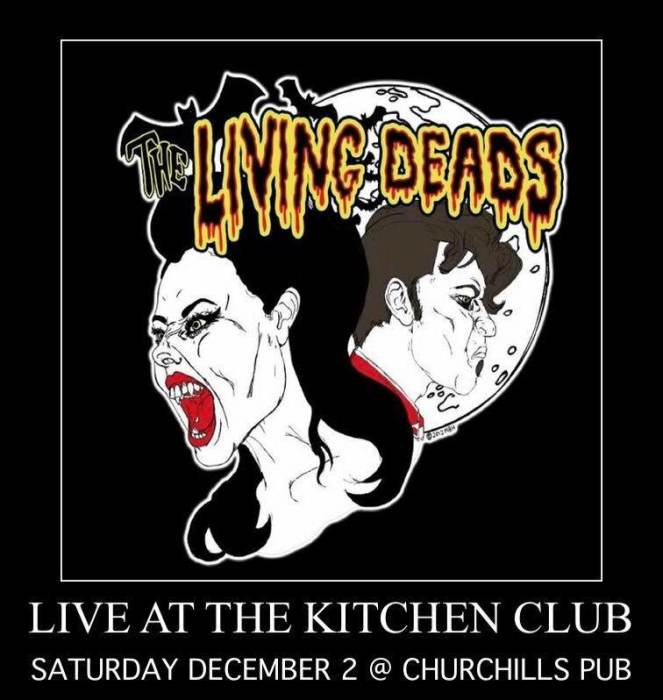 The Kitchen Club ft. The Living Deads, 16BIT, Lone Wolf, Sewerside Bombers, Union, OMB, & Pocket of Lollipops