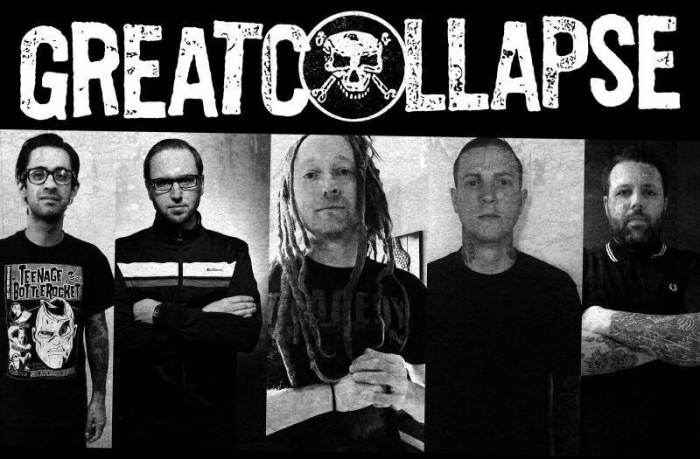 GREAT COLLAPSE (ex Rise Against/Strike Anywhere/Death By Stereo/Set Your Goals)