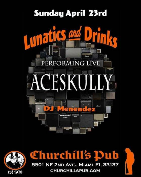 Lunatics & Drinks with Carlos Menendez & Aceskully