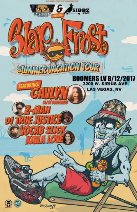 Slap Frost Summer Vacation Tour
