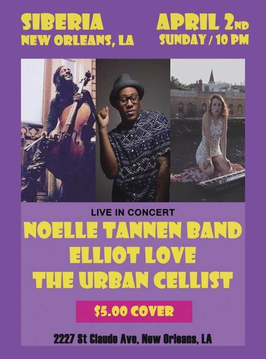 The Urban Cellist | Elliot Luv | Noelle Tannen