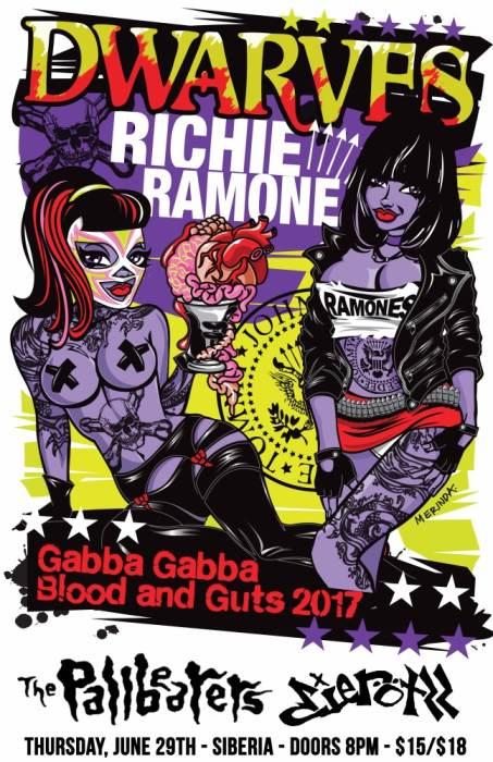 THE DWARVES | Richie Ramone | Pallbearers | Die Rotzz