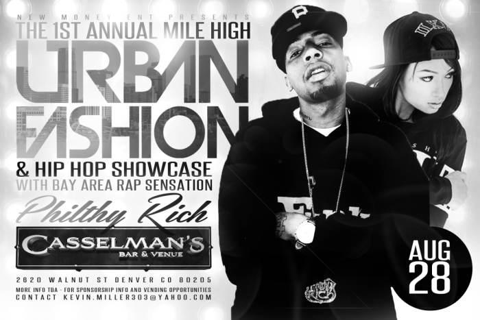 Philthy Rich Live @ 1st Annual Mile High Urban Fashion Show