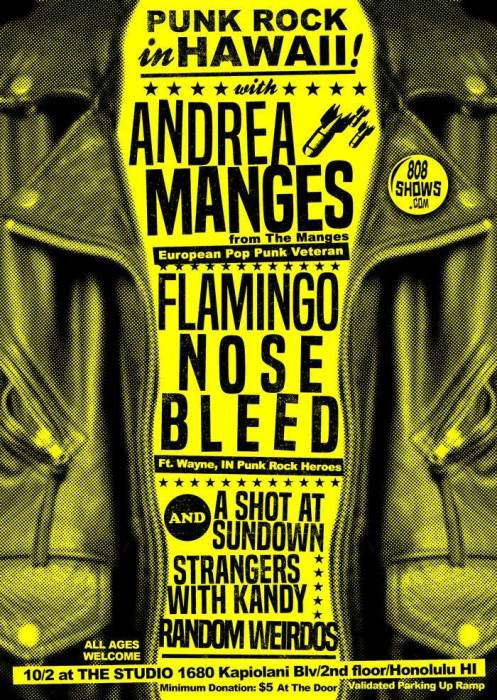 Andrea Manges & Flamingo Nosebleed
