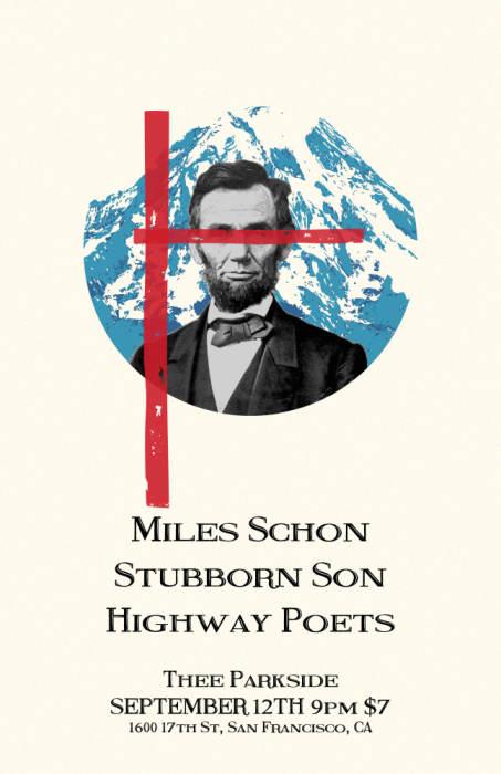 Miles Schon, Stubborn Son, The Highway Poets