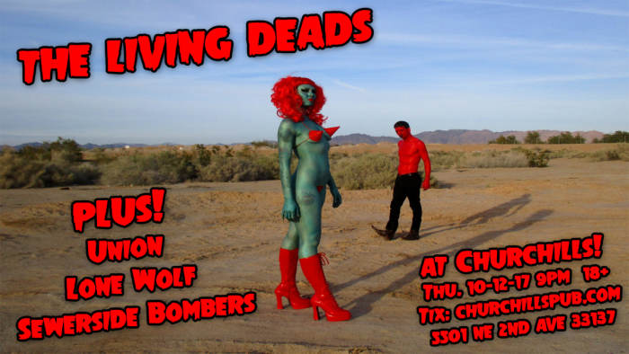 The Living Deads, Union, Lone Wolf, Sewerside Bombers