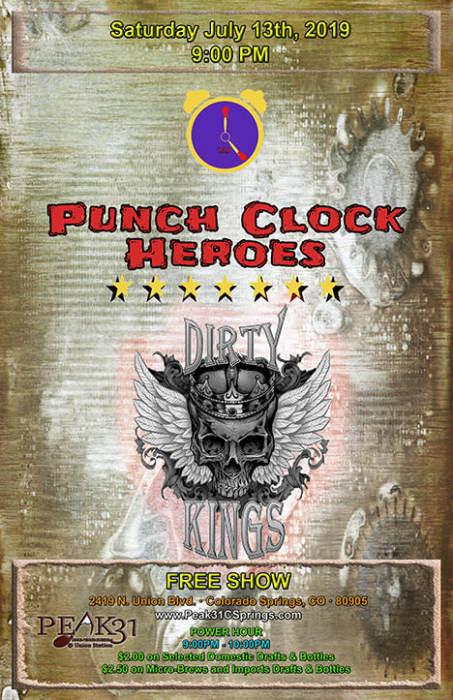 Punch Clock Heroes / Dirty Kings