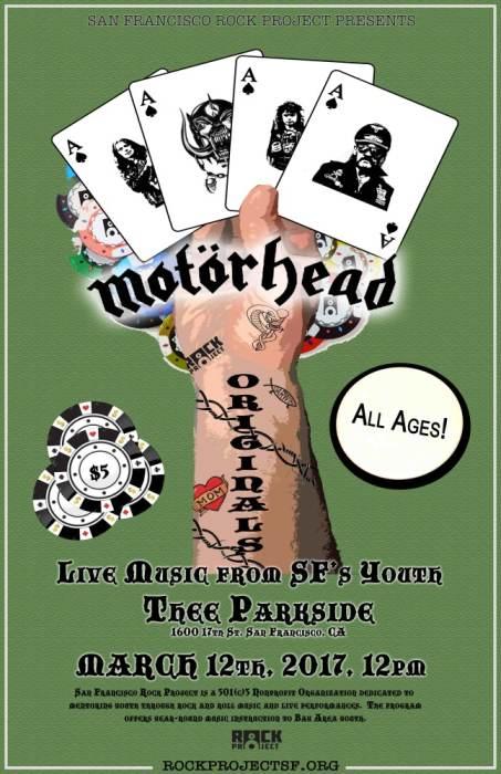 SF Rock Project Presents: Motorhead