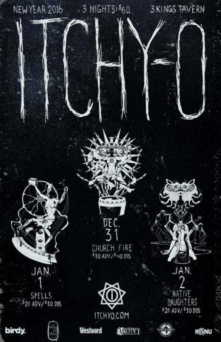 ITCHY-O 3 NIGHT PACKAGE