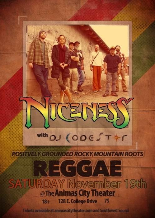 Niceness w/ DJ Codestar