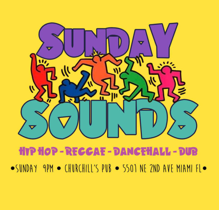 SUNDAY SOUNDS - the best of throwback hip-hop, Reggae, dancehall, dub and more.