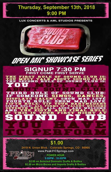 SOUND CLUB III Showcase