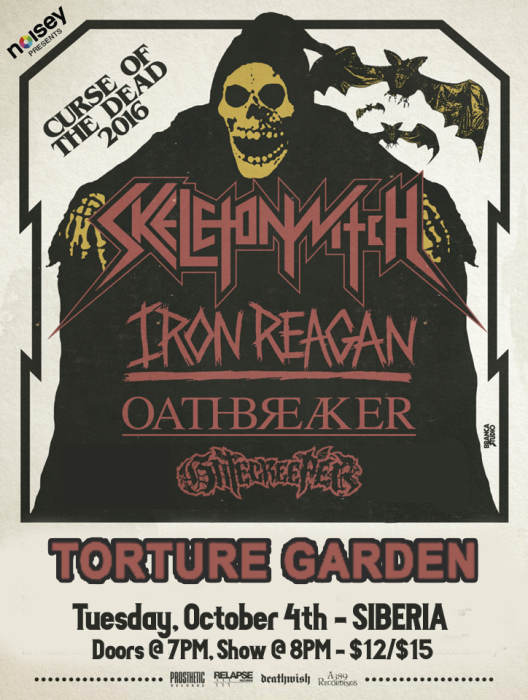 SKELETONWITCH | Iron Reagan | Oathbreaker | Gatecreeper | Torture Garden
