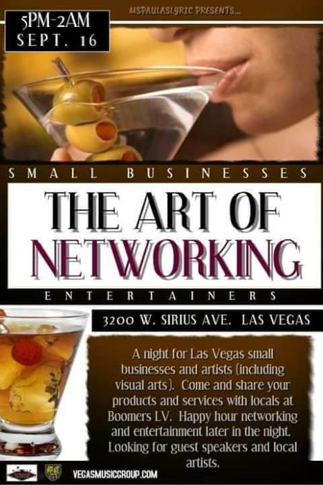 The Art of Networking and After Party Talent Showcase