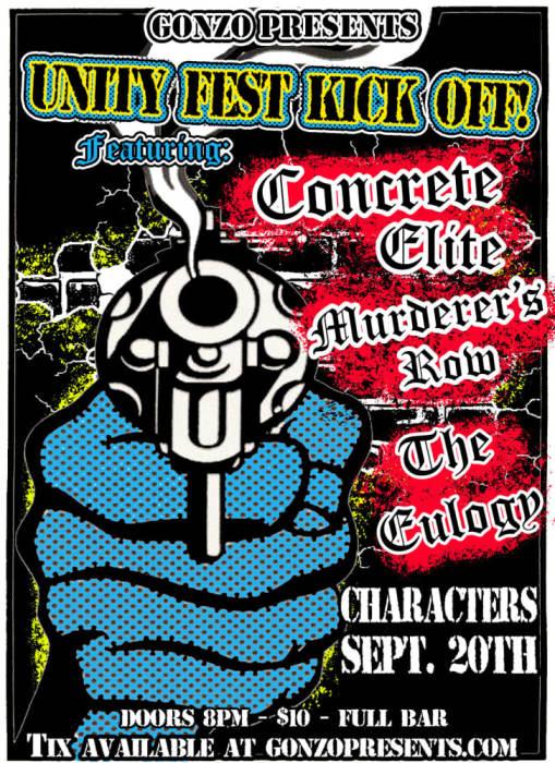 Unity Fest kick off Concrete Elite,Murderer