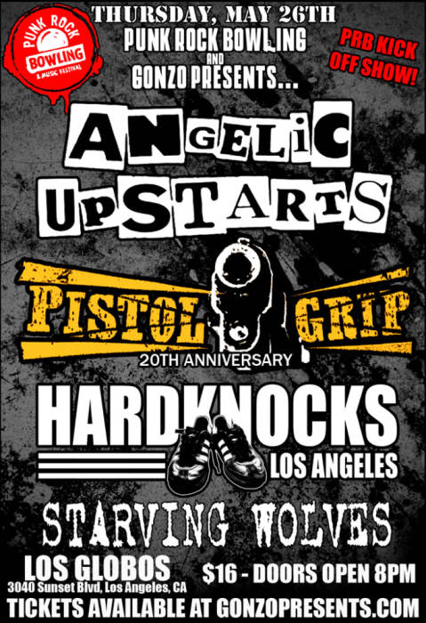 ANGELIC UPSTARTS plus VERY special guests