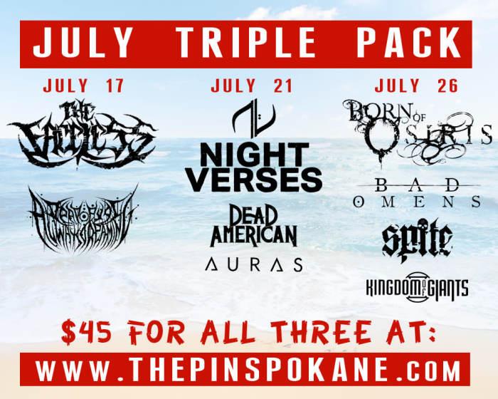 July Triple Pack