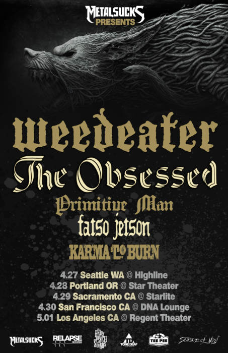 WEEDEATER & THE OBSESSED