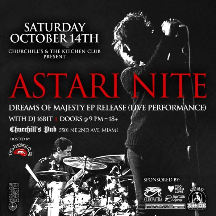 The Kitchen Club with Astari Nite EP Release Party, 16BIT, and more