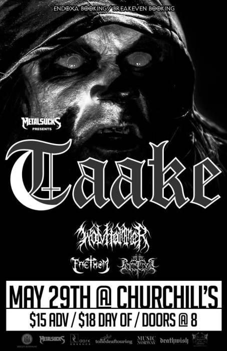 Taake, Wolvhammer, Faethom, Promethean Horde