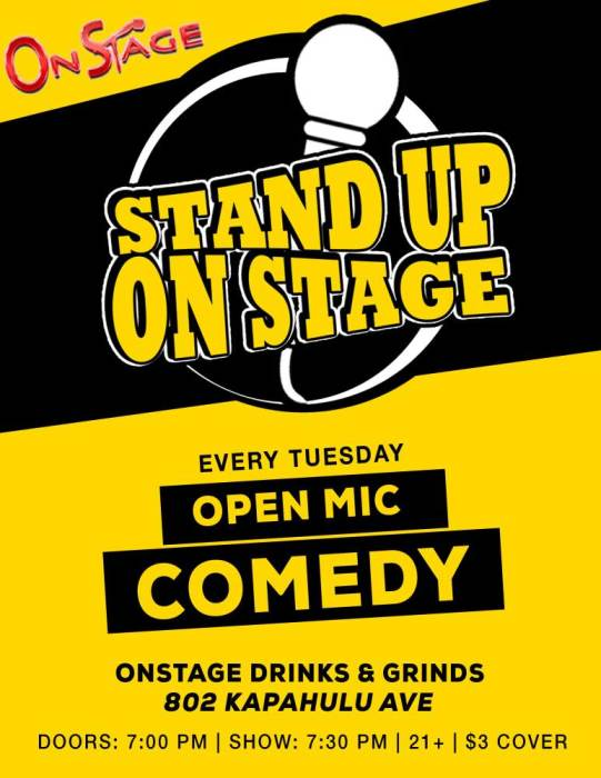 Local Comedy - Open Mic