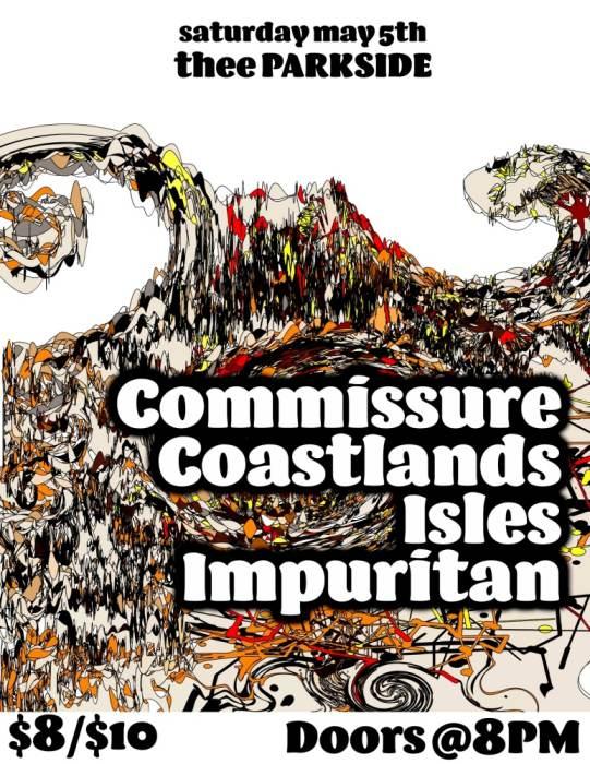 Commissure, Coastlands, Impuritan, Isles