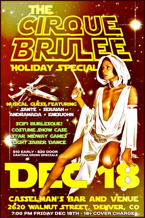 The Cirque Brulee SciFi Burlesque