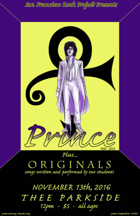 San Francisco Rock Project Presents: A Tribute to Prince + Student Originals