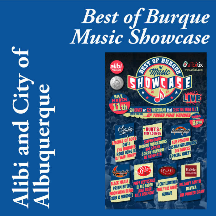 The Best of Burque Music Show Case 2017